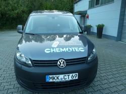 Chemotec-Lieferfahrzeug Front